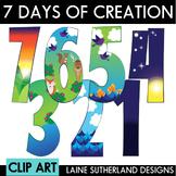 7 Days of Creation Clip Art Set