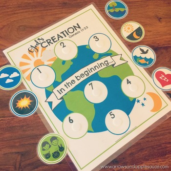 7 Days of Creation Memory Game