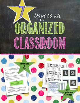 7 Days to an Organized Middle School Classroom