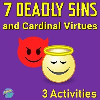 7 Deadly Sins and Virtues Enrichment Activities