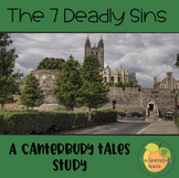 7 Deadly Sins in The Canterbury Tales - To be used with th