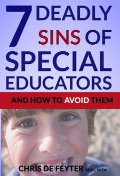 7 Deadly Sins of Special Educators