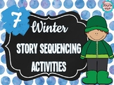 7 Winter Story Sequencing Activities