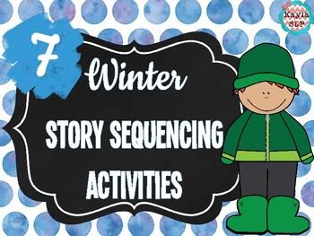 7 Winter Story Sequencing Activities