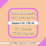 Two-Step Equations - 7.EE.4a Skill Builder - Differentiate