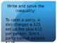 7.EE.4b 7.EE.4 Inequalities Powerpoint Questions