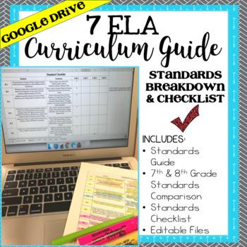 Common Core 7 ELA Standards Checklist - Google Drive File