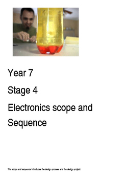7 Electronics Scope and Sequence