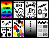 7 Elements of Art Poster