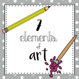 7 Elements of Art Posters