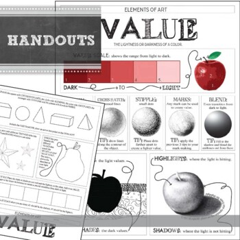 2-D Design: Value Project Handouts! (all uploaded as jpegs ...