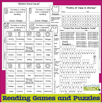 7 FREE At-Home Reading Activities