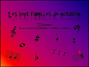 7 Famille- Notation - en Français