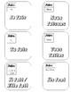7 Familles - Irregular verbs in Present tense