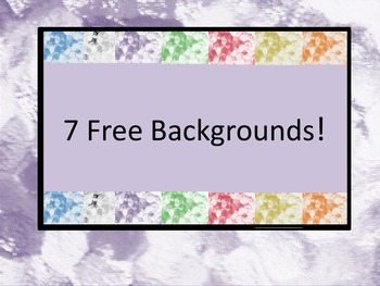 7 Free Backgrounds
