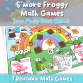 7 Froggy S'more Dice Games For Spring- Independent Math Practice