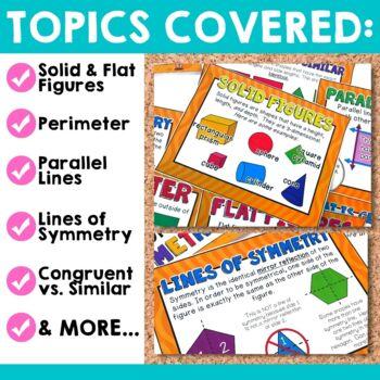 Geometry Bulletin Board Set