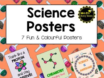 7 Fun Science Posters