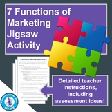 7 Functions of Marketing Jigsaw Activity