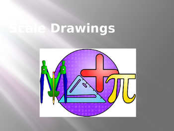 7.G.1 Common Core 7 Scale Drawings PowerPoint Review/Activity