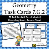 7.G.2 Task Cards, Draw Geometric Shapes with Given Conditions