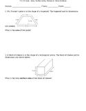 7.G.3 & 7.G.6 Quiz