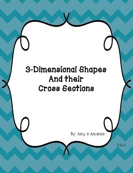 7.G.3 Slicing 3-Dimensional Shapes
