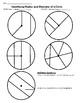 7.G.4 Coloring Radius and Diameter