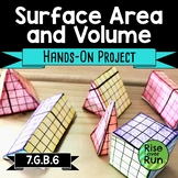 Surface Area and Volume Activity 7th Grade