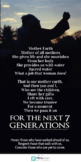 7 Generation Poem