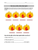 7 Gifts of the Holy Spirit Worksheet