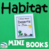 Animal Habitat Mini Books