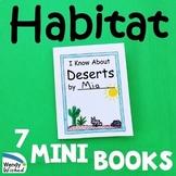 Animal Habitat Mini Books