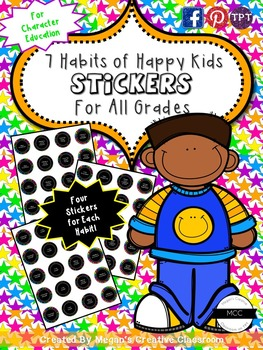 Good Habits Reward System {Character Education}