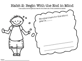 7 Habits of a Happy Kid Worksheets