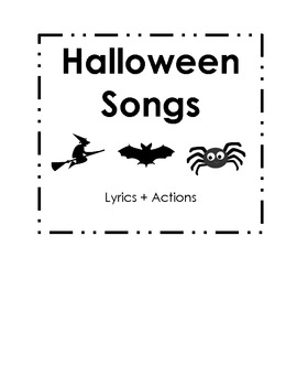 7 Halloween Songs (lyrics and actions)