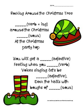 7 Holiday-Themed Mad-Libs!