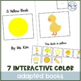 7 Interactive Color Books Bundle