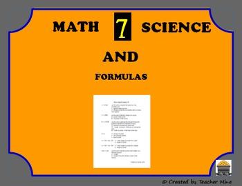 7 Interesting Math & Science Formulas