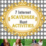7 Internet Scavenger Hunt Activities