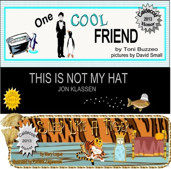 7 KIDS WINGS LITERATURE GUIDES FOR 2013 CALDECOTT AWARD PICTURE BOOKS