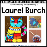 7 Laurel Burch: Famous Artists Lessons (from Art History for Elementary 2)