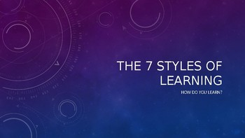 7 Learning Styles PP