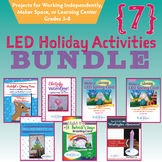 7 Light Up Projects BUNDLE  STEM, Science, STEAM, Circuits Maker Space Activity