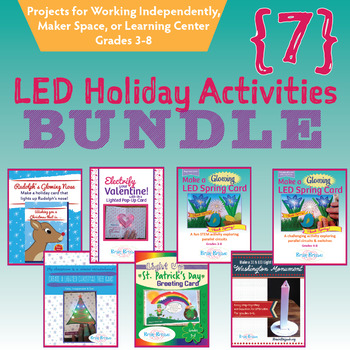 7 Light Up Projects BUNDLE |STEM, Science, STEAM, Circuits|Maker ...