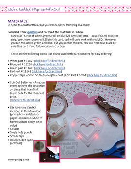 7 Light Up Projects BUNDLE |STEM, Science, STEAM, Circuits|Maker Space Activity