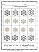 7 Little Snowman and Snowflake Math Activities