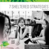 7 Low-Prep Sheltered Strategies for both ELLs & Native English Speakers V2