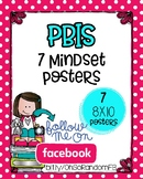 7 Mindsets {Posters for PBIS}