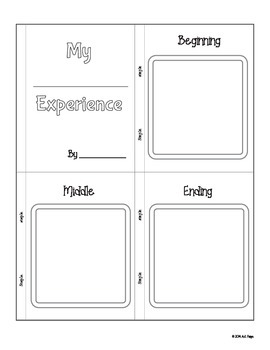7 Mini Book Templates for Reading Comprehension and Writing Exercise